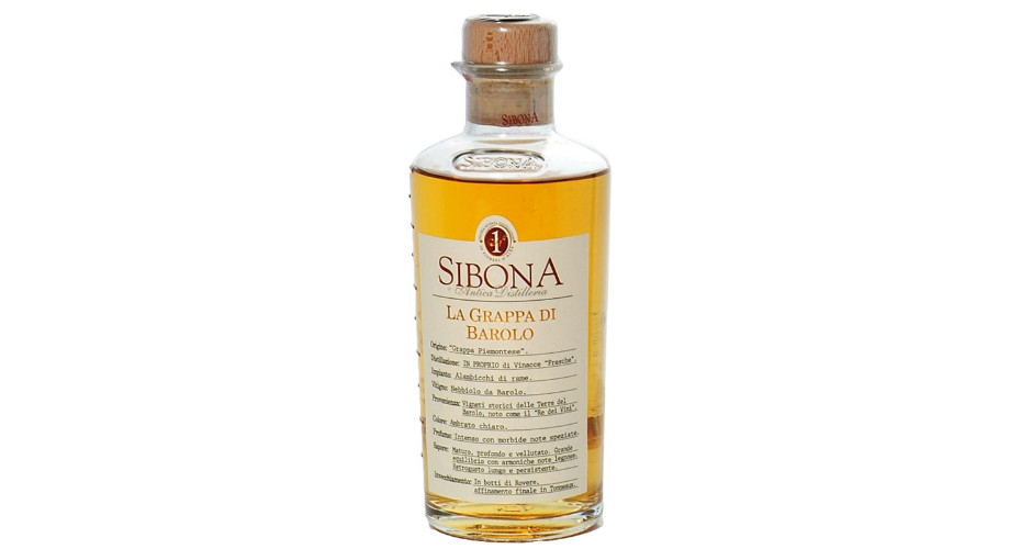 Sibona – Grappa di Barolo